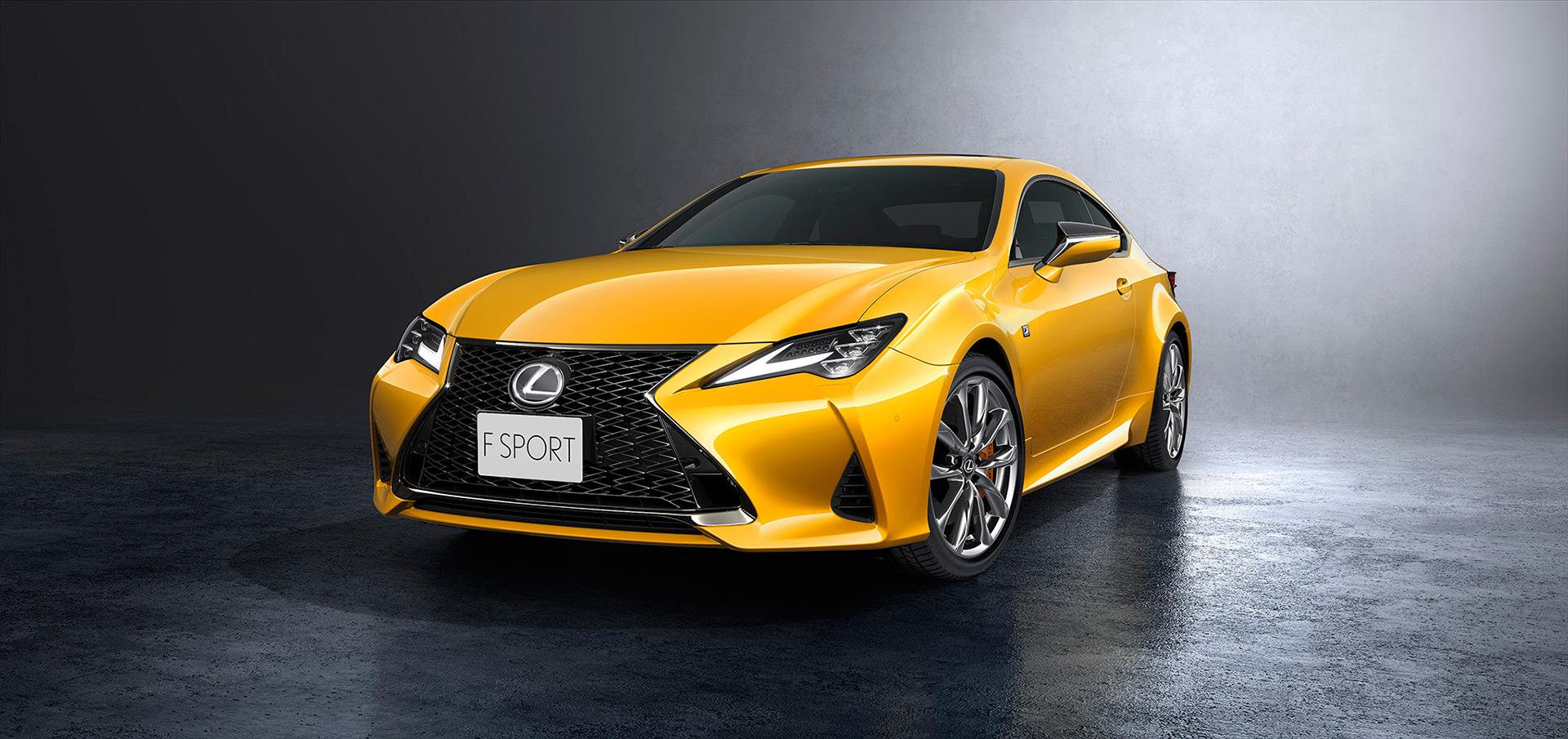 「【新車】レクサスRCがマイナーチェンジ。LC譲りのエレガントな外観と高い走行性能を獲得」の6枚目の画像