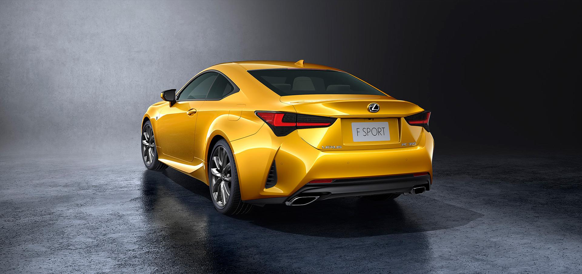 「【新車】レクサスRCがマイナーチェンジ。LC譲りのエレガントな外観と高い走行性能を獲得」の5枚目の画像