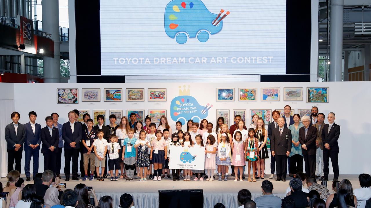 「こどもたちの作品から見えてくる未来は? 第12回トヨタ夢のクルマアートコンテスト」の1枚目の画像