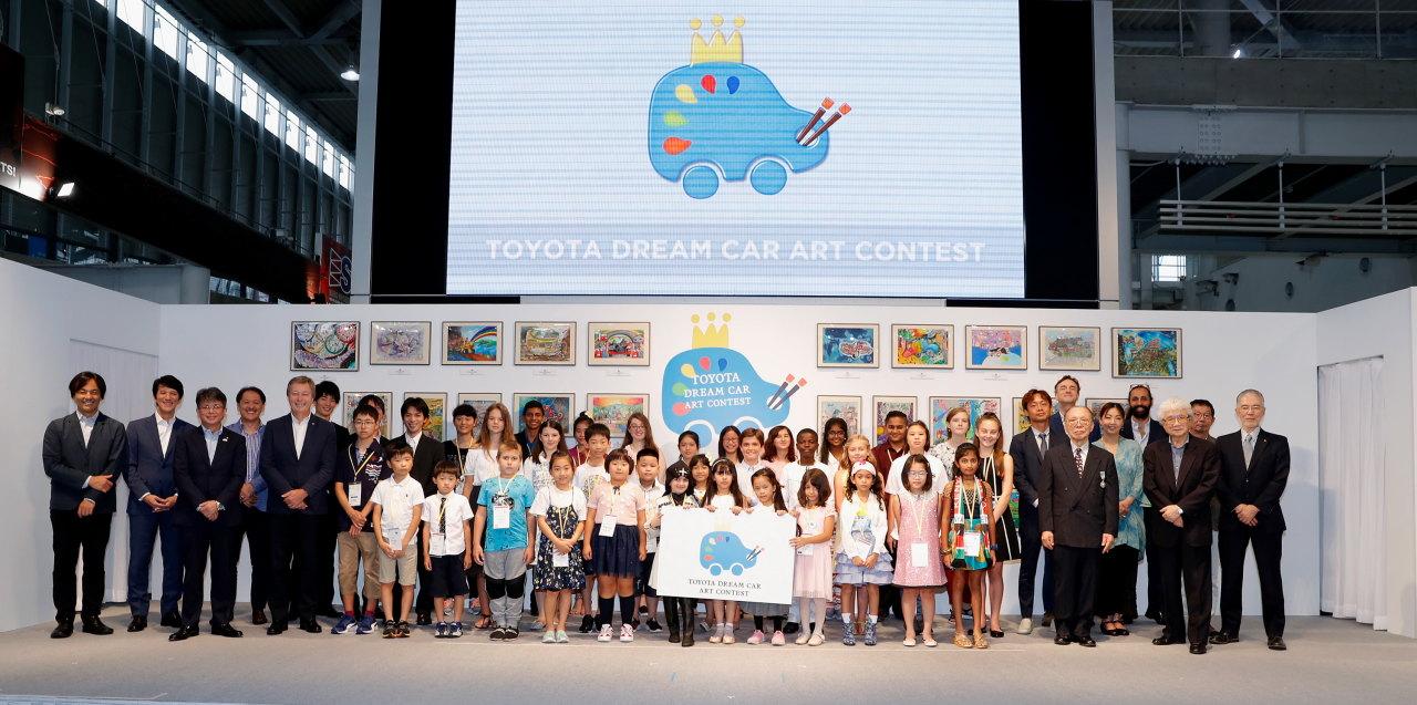 「こどもたちの作品から見えてくる未来は? 第12回トヨタ夢のクルマアートコンテスト」の11枚目の画像