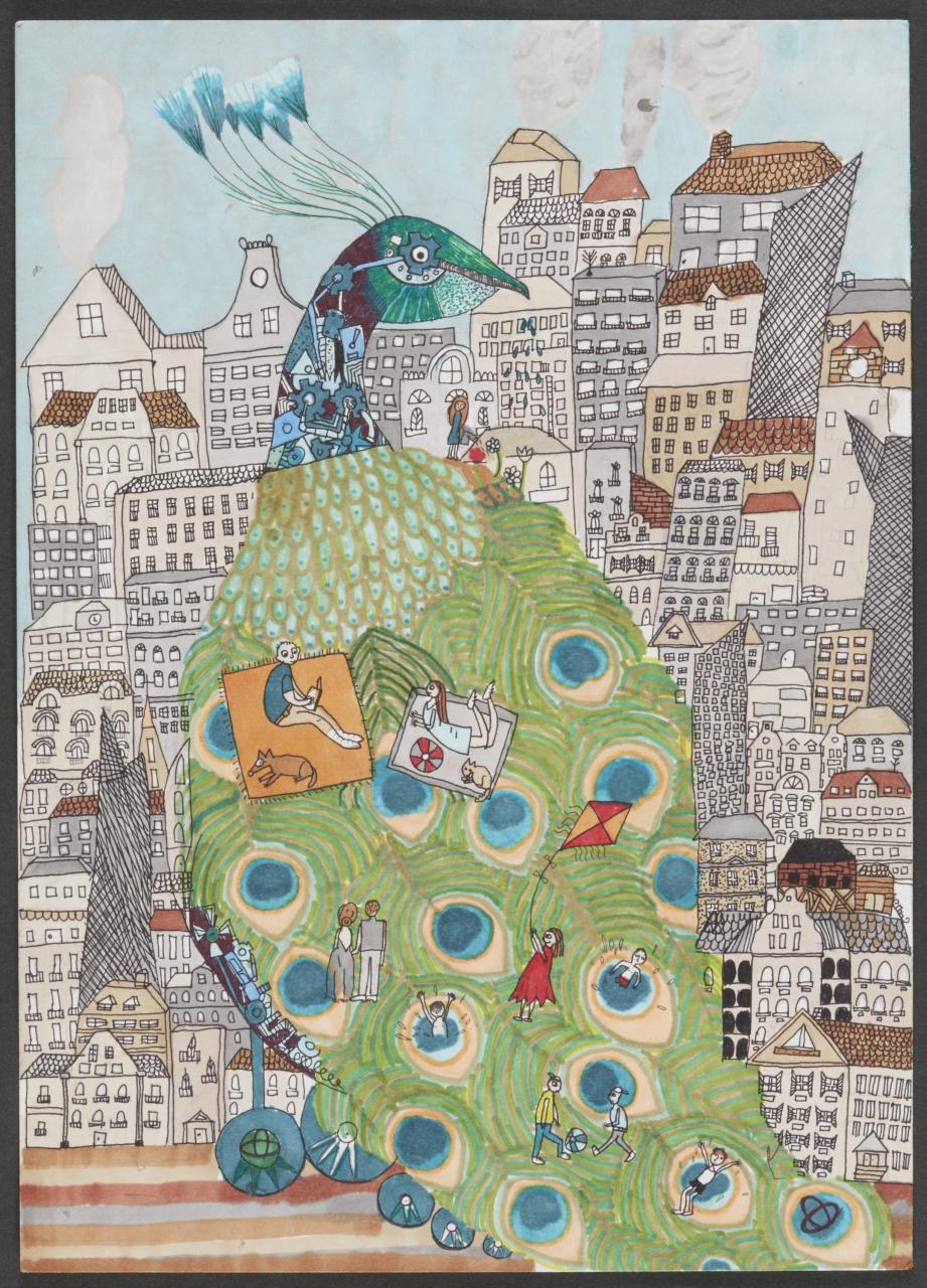「こどもたちの作品から見えてくる未来は? 第12回トヨタ夢のクルマアートコンテスト」の5枚目の画像