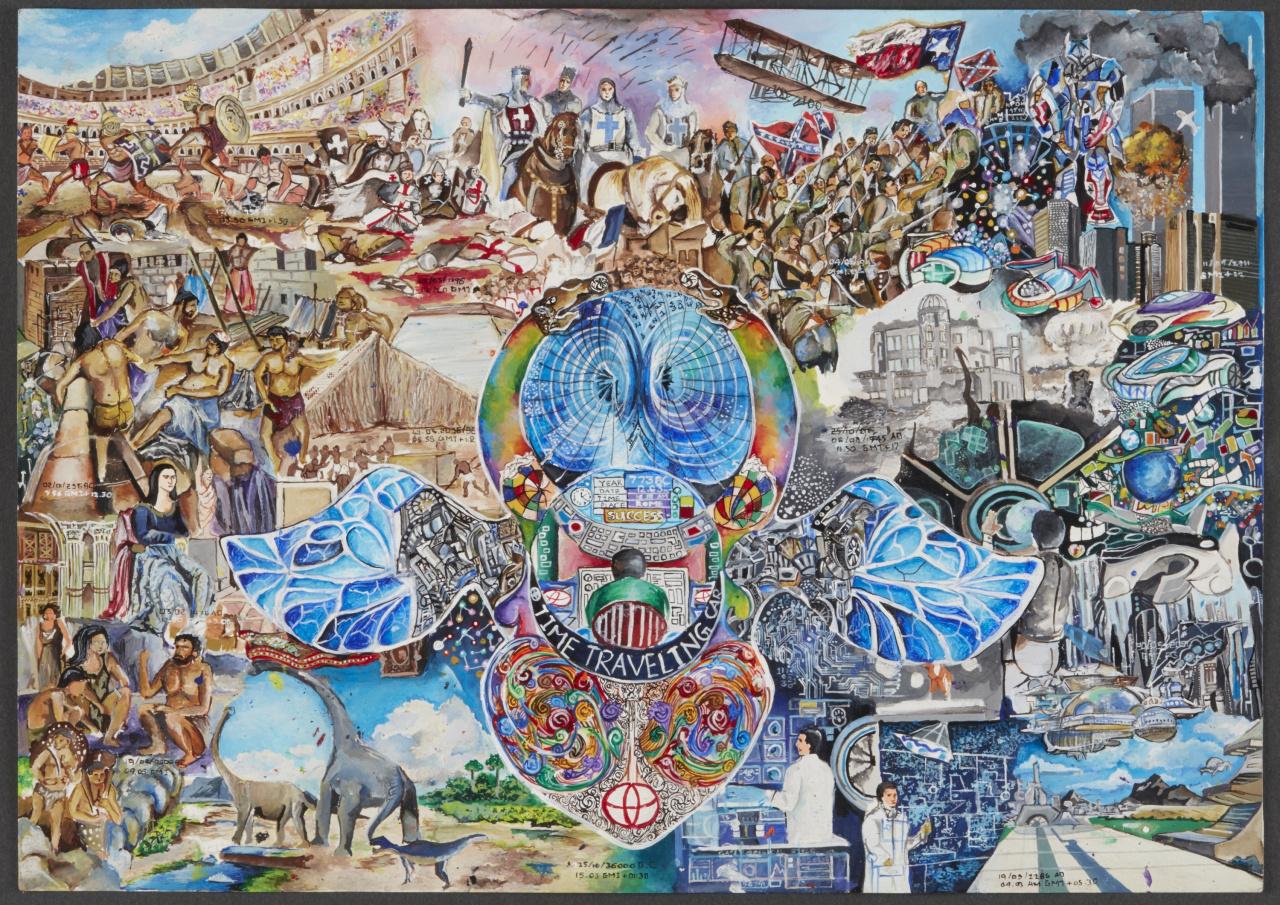 「こどもたちの作品から見えてくる未来は? 第12回トヨタ夢のクルマアートコンテスト」の9枚目の画像