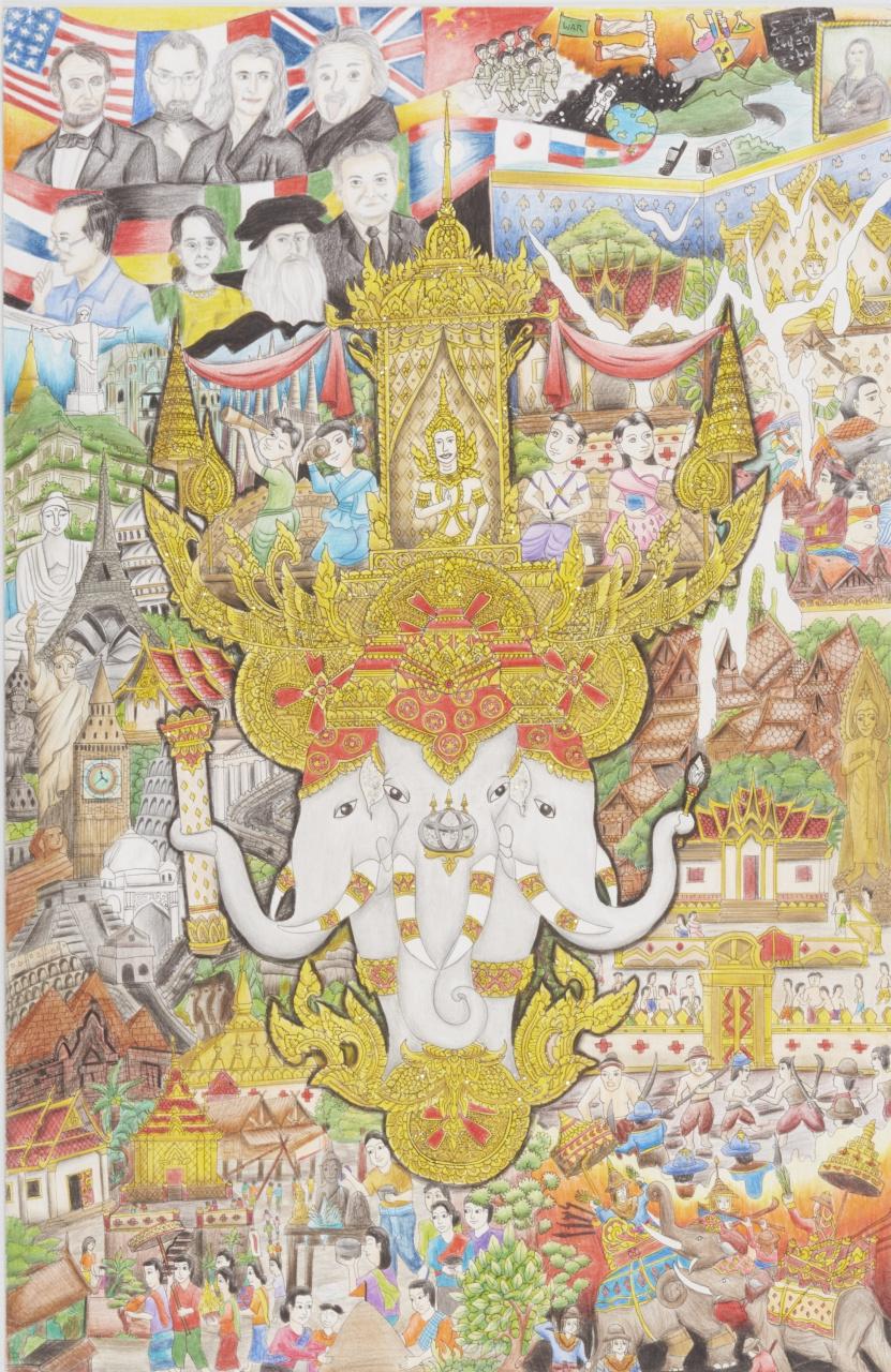 「こどもたちの作品から見えてくる未来は? 第12回トヨタ夢のクルマアートコンテスト」の6枚目の画像