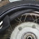 【5万円SR】タイヤとチェーンだけでも高級感が違う!5万円の見た目から8万円くらいへアップグレード -