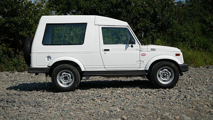 「新車のジムニー・ロング、現る! インド生産の「ジプシー」は2代目ジムニーそのものだった」の11枚目の画像