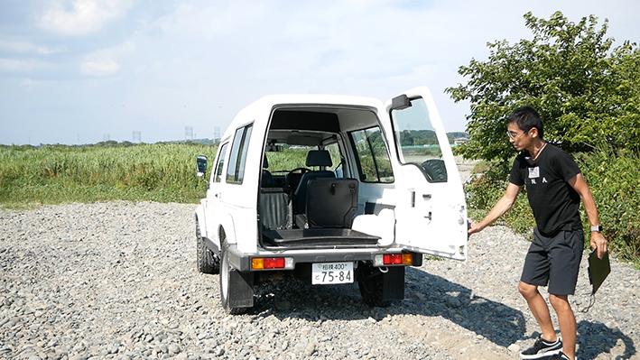 「新車のジムニー・ロング、現る! インド生産の「ジプシー」は2代目ジムニーそのものだった」の19枚目の画像