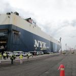 一気に4900台を運ぶ船への積み込みは神業級! 新型フォレスターを北米へ輸出する運搬船をチェックしてきました - 01 ふなづみ.00_01_22_15.Still006