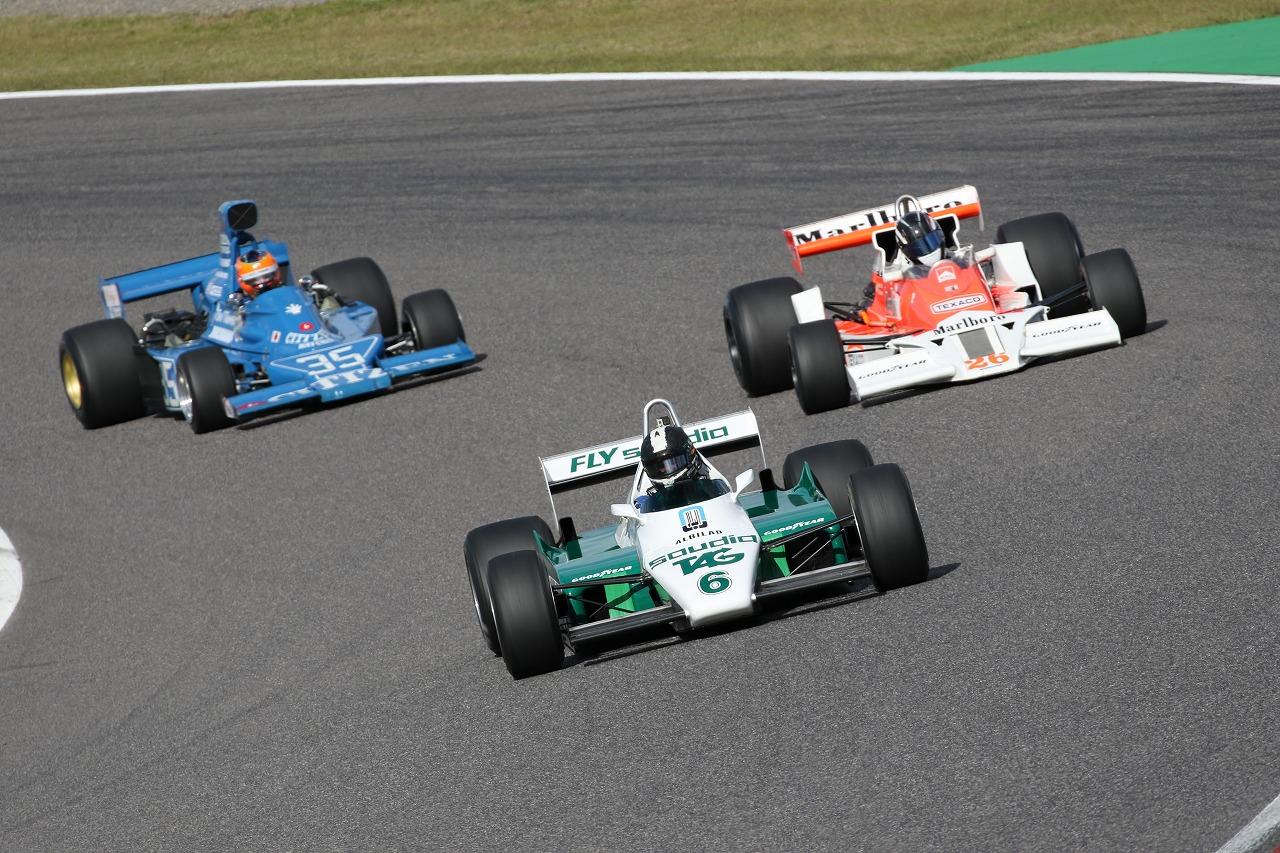 「【RICHARD MILLE SUZUKA Sound of ENGINE 2018】もうひとつのF1グランプリ「Fusion Coin Masters Historic Formula One」が鈴鹿サーキットで東アジア初開催!」の1枚目の画像