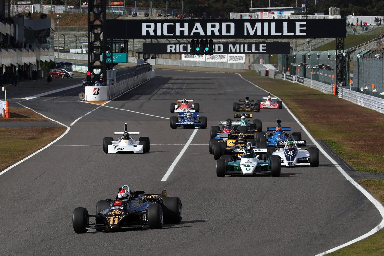 「【RICHARD MILLE SUZUKA Sound of ENGINE 2018】もうひとつのF1グランプリ「Fusion Coin Masters Historic Formula One」が鈴鹿サーキットで東アジア初開催!」の6枚目の画像