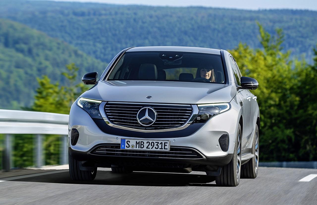 「ついに新型EV「EQC」がメルセデス・ベンツから登場!2019年上半期から生産へ」の1枚目の画像