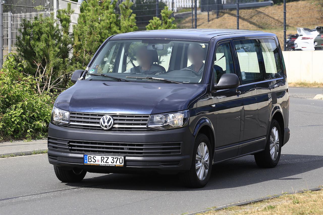「VWの次世代商用バン「T7」、初のGTEハイブリッドをスクープ!」の2枚目の画像