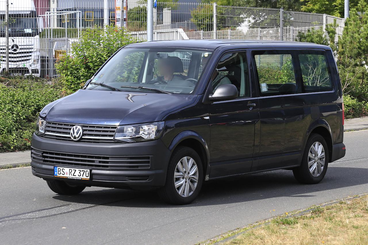 「VWの次世代商用バン「T7」、初のGTEハイブリッドをスクープ!」の3枚目の画像
