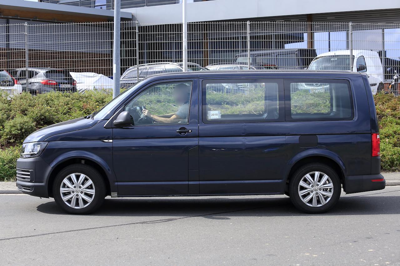 「VWの次世代商用バン「T7」、初のGTEハイブリッドをスクープ!」の5枚目の画像