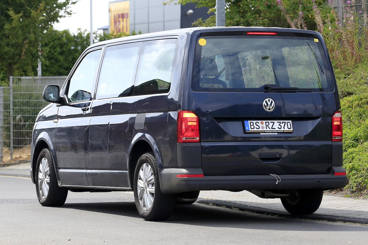 「VWの次世代商用バン「T7」、初のGTEハイブリッドをスクープ!」の6枚目の画像