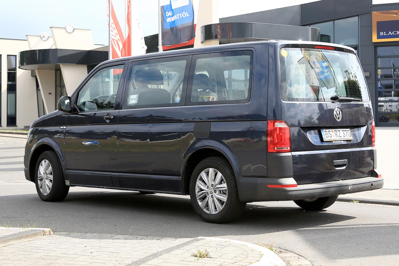 「VWの次世代商用バン「T7」、初のGTEハイブリッドをスクープ!」の12枚目の画像