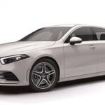 【新車】メルセデス・ベンツ Aクラスが登場。AIによる学習機能「MBUX」を搭載し、価格は322万円〜 - 新型Aクラス広報カット_A 180 Style_AMGライン付