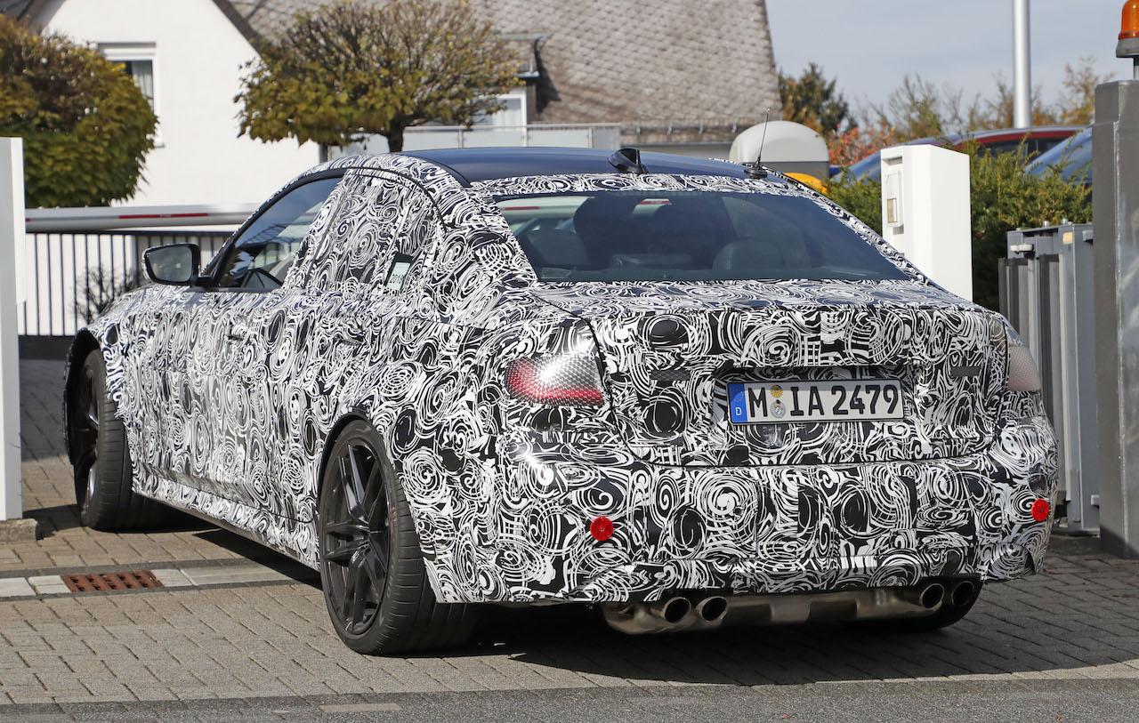 「新型BMW・M3市販型プロトタイプをついにスクープ!最高出力は500馬力へ」の8枚目の画像