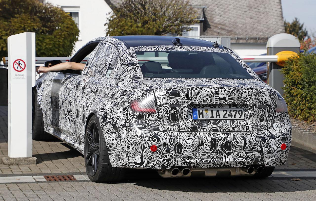 「新型BMW・M3市販型プロトタイプをついにスクープ!最高出力は500馬力へ」の9枚目の画像