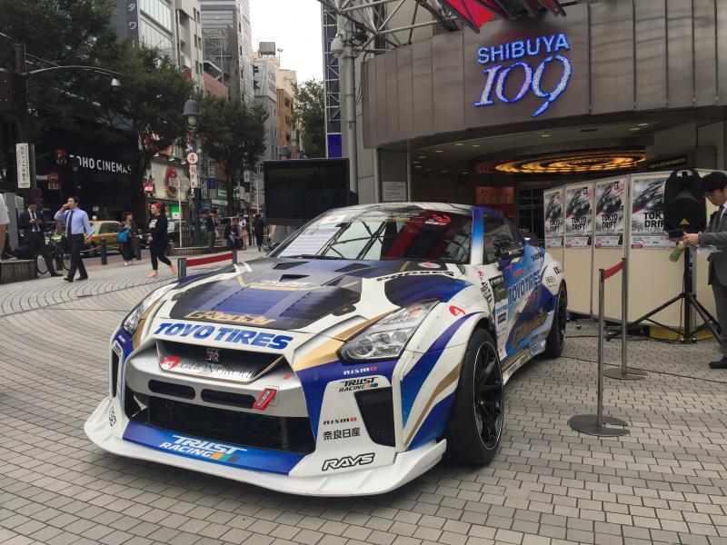 SHIBUYA109前がドリフト色に染まった日。FIA IDC Tokyo Drift2018が渋谷をジャック!