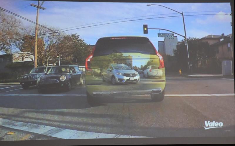 「先が透けて見える」! ヴァレオが開発した驚きの技術「XtraVue」とは?【CEATEC JAPAN 2018】