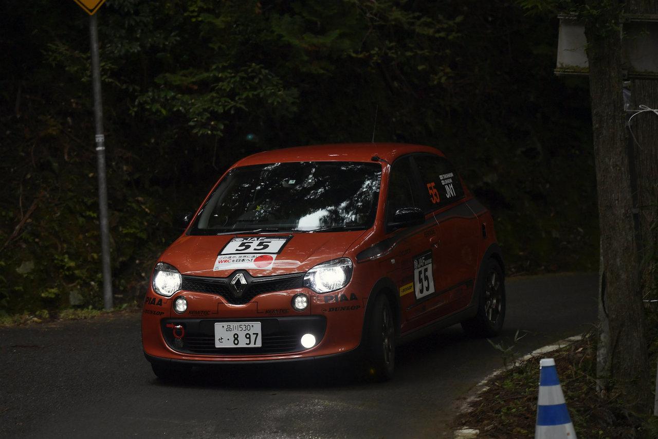 「ルノー・トゥインゴGTが全日本ラリー選手権の最終戦「新城ラリー2018」に初参戦」の3枚目の画像