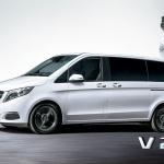 【新車】カタログ落ちしていたベンツ・Vクラスに、ガソリンエンジンを搭載した「V 260 ロング」を設定 - Die neue Mercedes-Benz V-Klasse, The new Mercedes-Benz V-Class