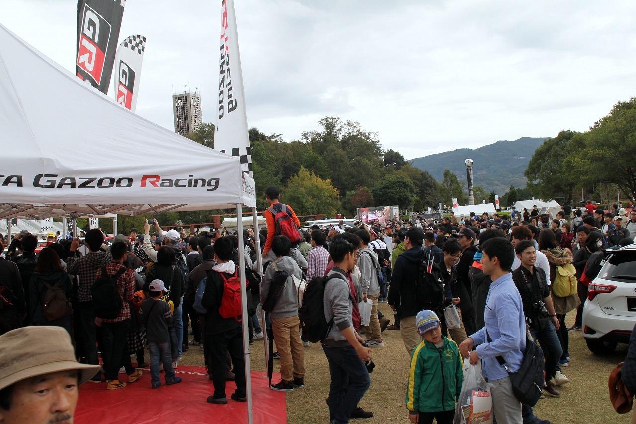 「世界ラリー選手権Wタイトル獲得なるか? ヤリスWRC、日本の新城ラリーで疾走」の3枚目の画像