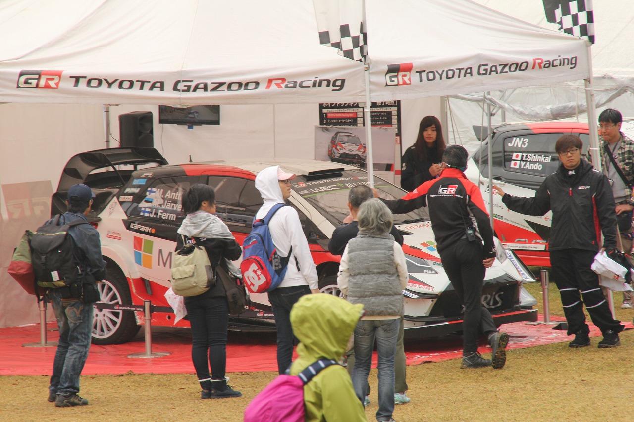 「世界ラリー選手権Wタイトル獲得なるか? ヤリスWRC、日本の新城ラリーで疾走」の5枚目の画像
