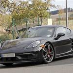 ポルシェ・718ケイマンに軽量モデル「T」が初設定へ! 開発車両をキャッチ - Porsche Cayman T 2