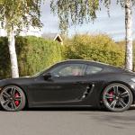 ポルシェ・718ケイマンに軽量モデル「T」が初設定へ! 開発車両をキャッチ - Porsche Cayman T 5