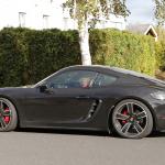 ポルシェ・718ケイマンに軽量モデル「T」が初設定へ! 開発車両をキャッチ - Porsche Cayman T 6