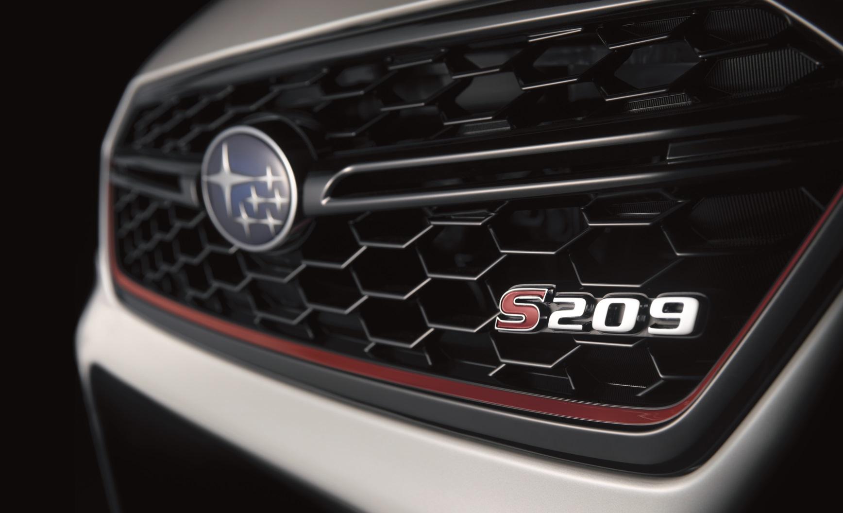 「【デトロイトモーターショー2019】抽選販売必至!? STIがコンプリートカー「S209」をワールドプレミア」の4枚目の画像