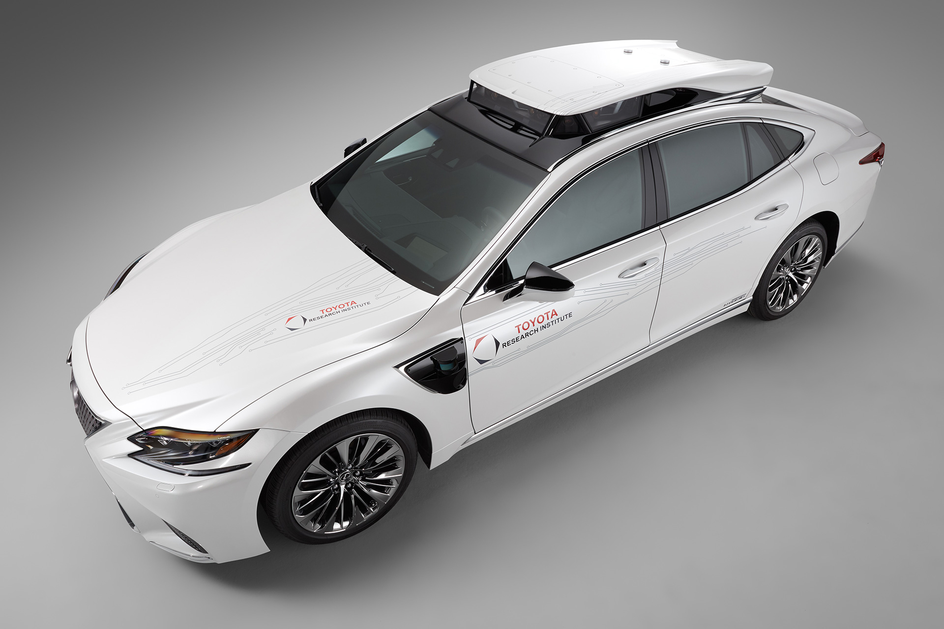 「【CES 2019】新型レクサスLSをベースとした自動運転実験車「TRI-P4」を披露」の16枚目の画像