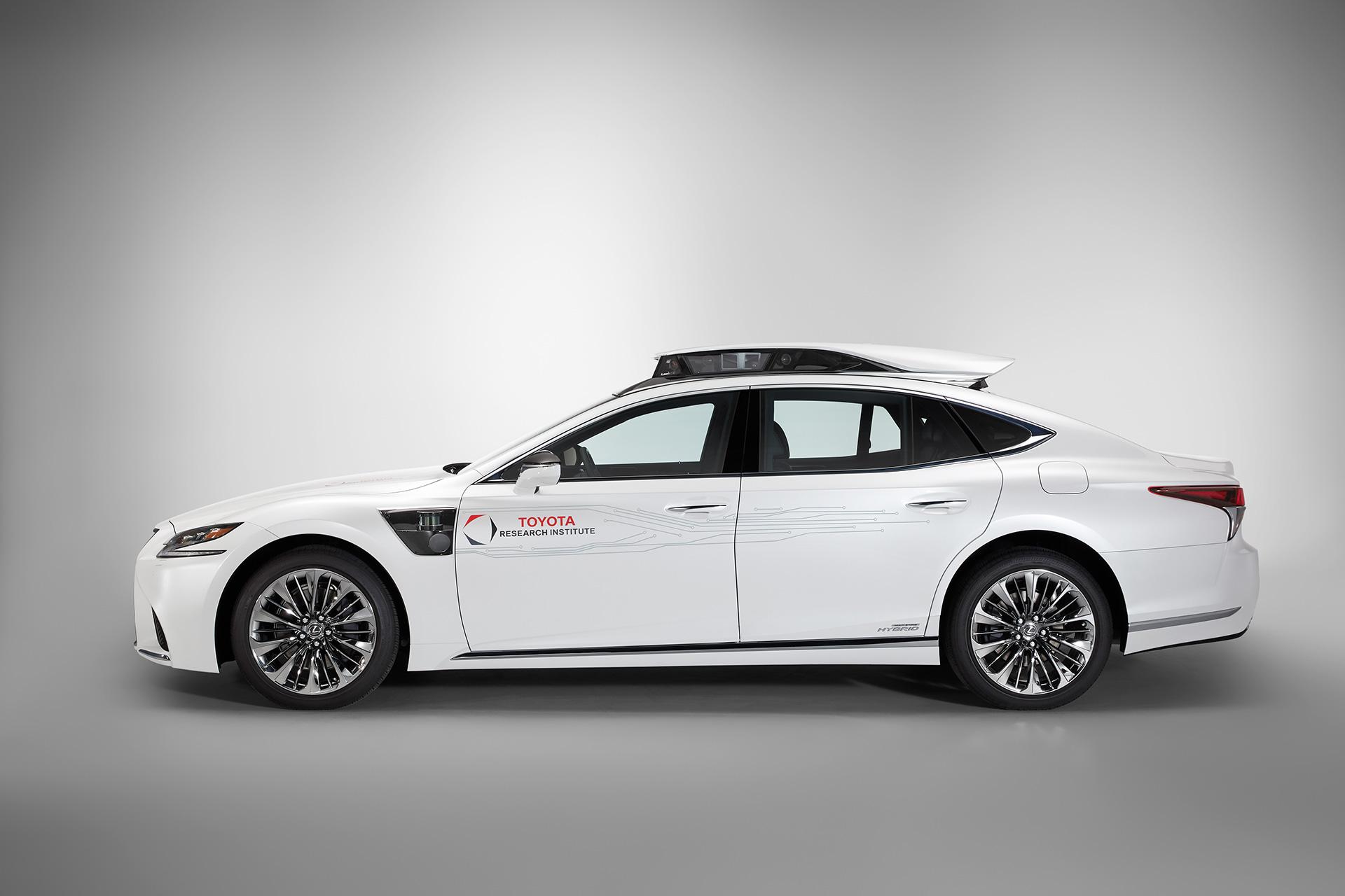「【CES 2019】新型レクサスLSをベースとした自動運転実験車「TRI-P4」を披露」の13枚目の画像