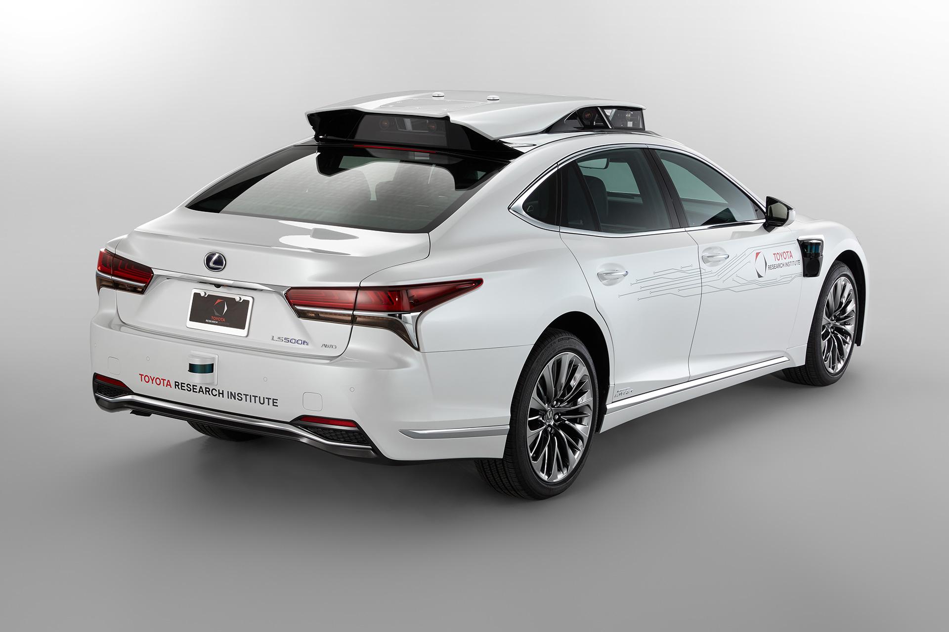 「【CES 2019】新型レクサスLSをベースとした自動運転実験車「TRI-P4」を披露」の10枚目の画像
