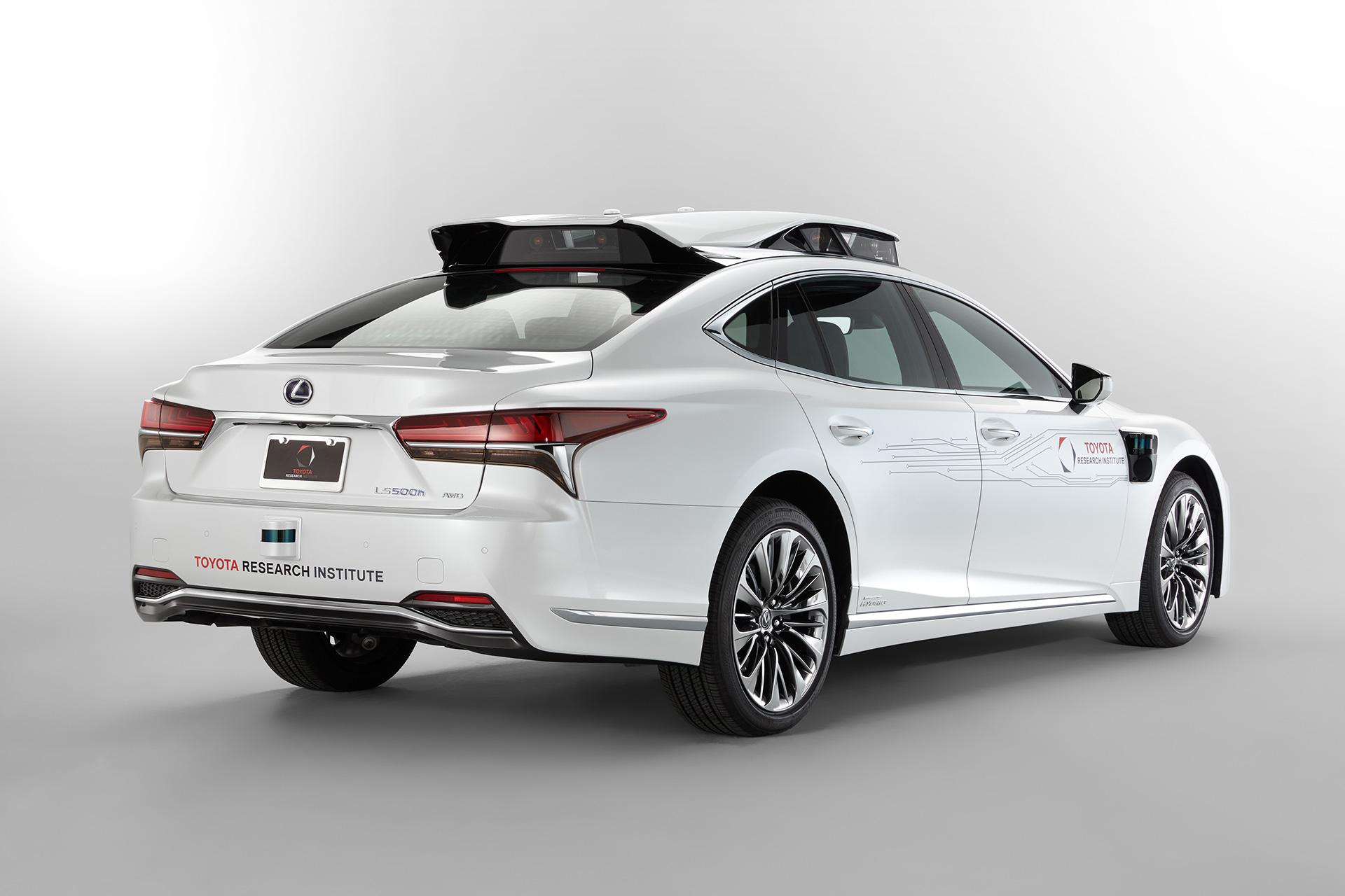 「【CES 2019】新型レクサスLSをベースとした自動運転実験車「TRI-P4」を披露」の9枚目の画像