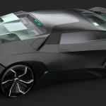 ランボルギーニがコンパクトスーパーカー「Vega」を開発中? 予想CGを入手 - 4dccb173988739.5c1c470c3b072