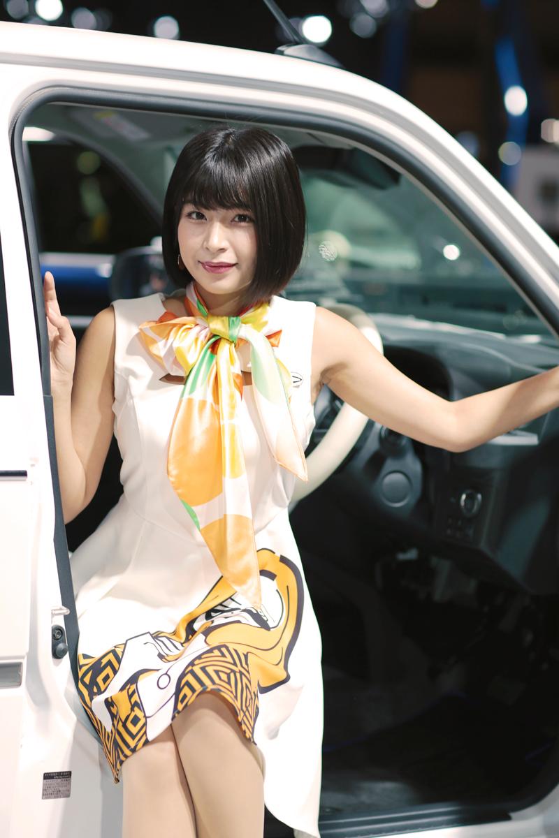 「これは素敵!3人の美女とダイハツ話題のコンパクト【東京オートサロン2019美女めぐり その4】」の17枚目の画像
