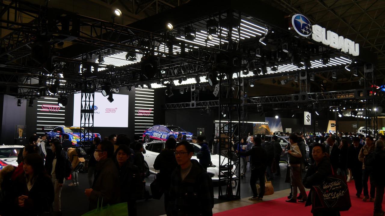 「【東京オートサロン2019】スバルは内外装の質感向上を狙ったコンセプトカーが複数登場!3分で分かるTAS・メーカー編:スバル/STI」の2枚目の画像