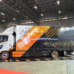 【東京オートサロン2019】日野自動車はガンダムのデザイナーとコラボ、トラックをモビルスーツ風に - TAS2019_DSCN0402