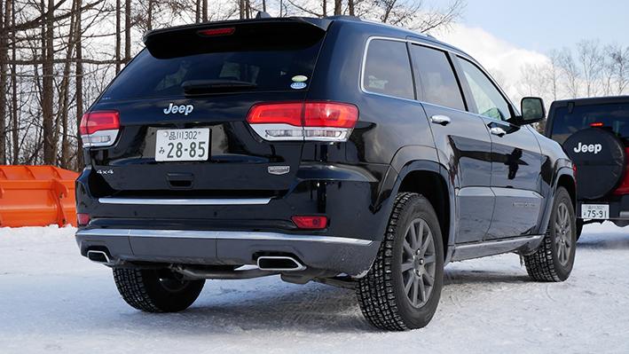「【グランド チェロキー雪上試乗】ジープの最上級SUVはアメリカンなフィールで安心感もハイクラス」の2枚目の画像
