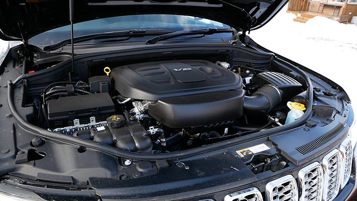 「【グランド チェロキー雪上試乗】ジープの最上級SUVはアメリカンなフィールで安心感もハイクラス」の3枚目の画像
