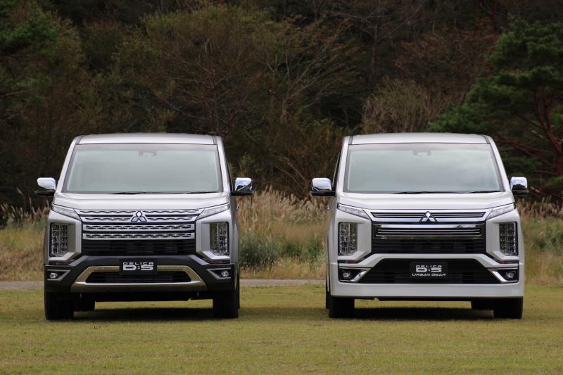 【新車】新型デリカD:5の発売を開始。価格帯は3,842,640円~4,216,320円で、旧型のガソリンエンジン仕様は継続販売