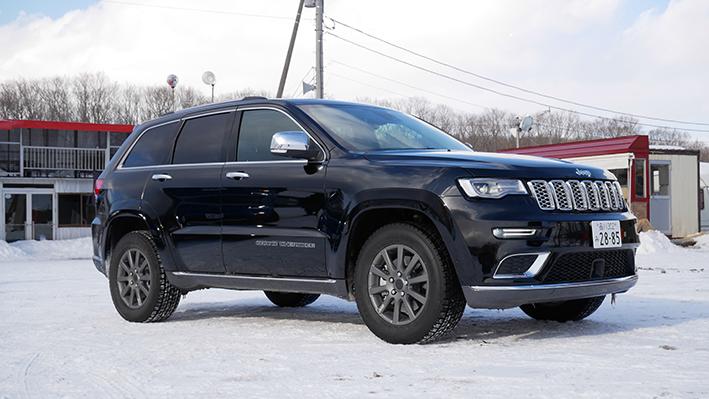 「【グランド チェロキー雪上試乗】ジープの最上級SUVはアメリカンなフィールで安心感もハイクラス」の4枚目の画像