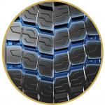 トラック・バスの駆動軸専用タイヤ「MICHELIN X Multi D+」が新発売 - MICHELIN X Multi D 方向指定トレッドパターン