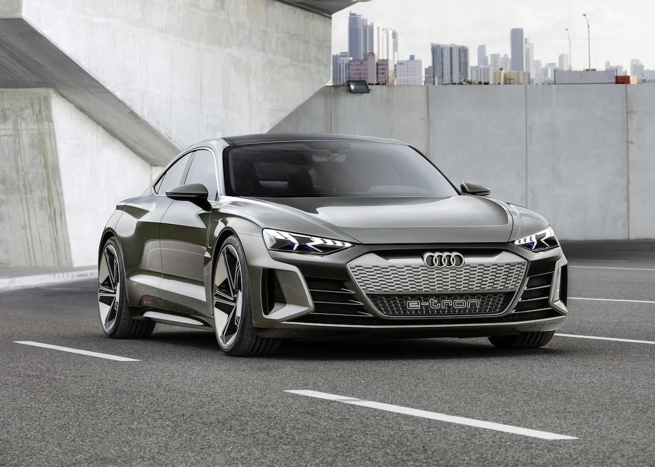 「アウディは4台の市販予定EVを出展。さらにプラグインハイブリッドの拡充と販売攻勢も計画【ジュネーブモーターショー2019】」の2枚目の画像