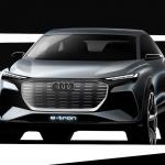 アウディは4台の市販予定EVを出展。さらにプラグインハイブリッドの拡充と販売攻勢も計画【ジュネーブモーターショー2019】 - Audi Q4 e-tron concept