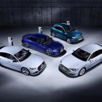 アウディは4台の市販予定EVを出展。さらにプラグインハイブリッドの拡充と販売攻勢も計画【ジュネーブモーターショー2019】 - Audi Q5, A6, A7 und A8