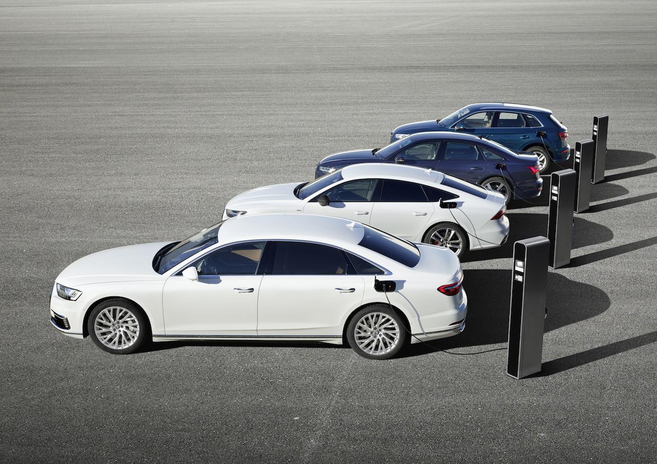 「アウディは4台の市販予定EVを出展。さらにプラグインハイブリッドの拡充と販売攻勢も計画【ジュネーブモーターショー2019】」の7枚目の画像