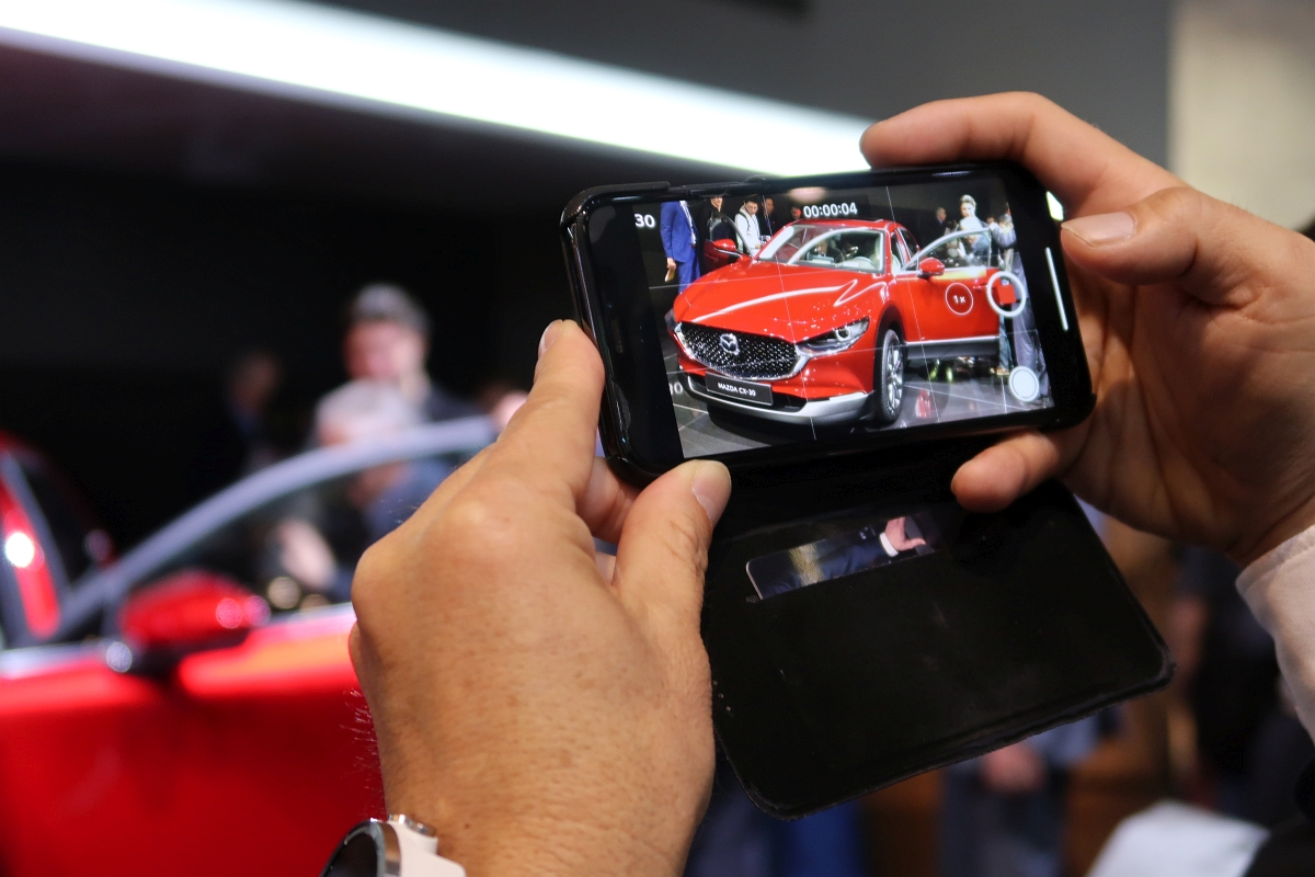 「なんと「CX-3」と併売? マツダの次世代SUV「CX-30」【ジュネーブモーターショー2019】」の2枚目の画像